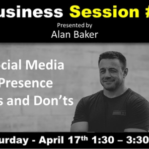 business seminar - sat, april 17th, 2021